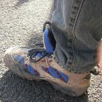 長年愛用した靴
